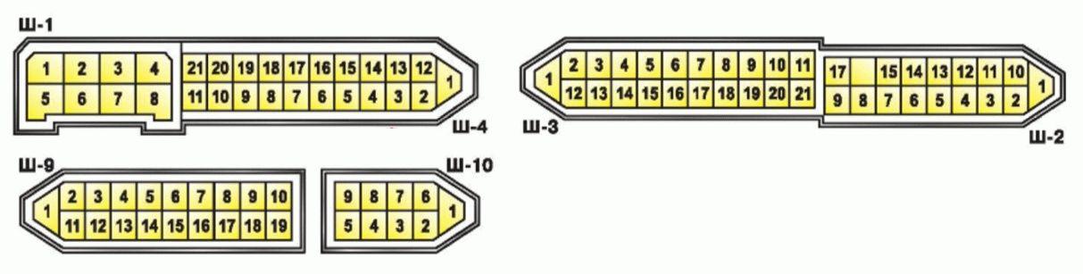 монтажного блока ВАЗ