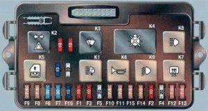 Монтажный блок предохранителей ВАЗ 2109 2108 21099