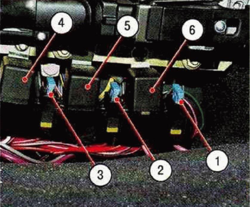 Ваз 2110 блок предохранителей и реле схема инжектор