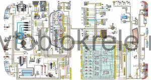 Схема электрооборудования ВАЗ 2110