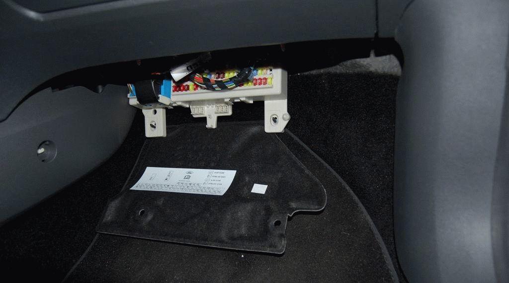 Блок предохранителей на форд фокус 2 где находится