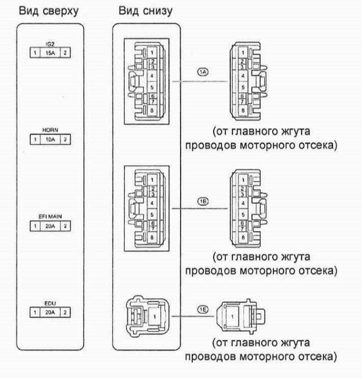 Схема. Блок реле №5