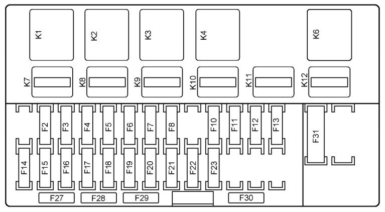 Монтажный блок DELRHI 15493150