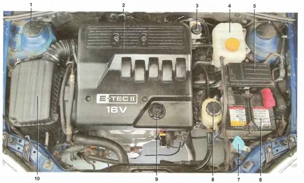 Chevrolet Lacetti блок
