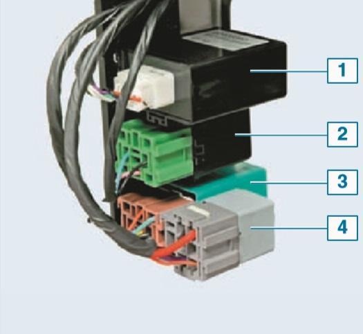 1 — блок управления системой