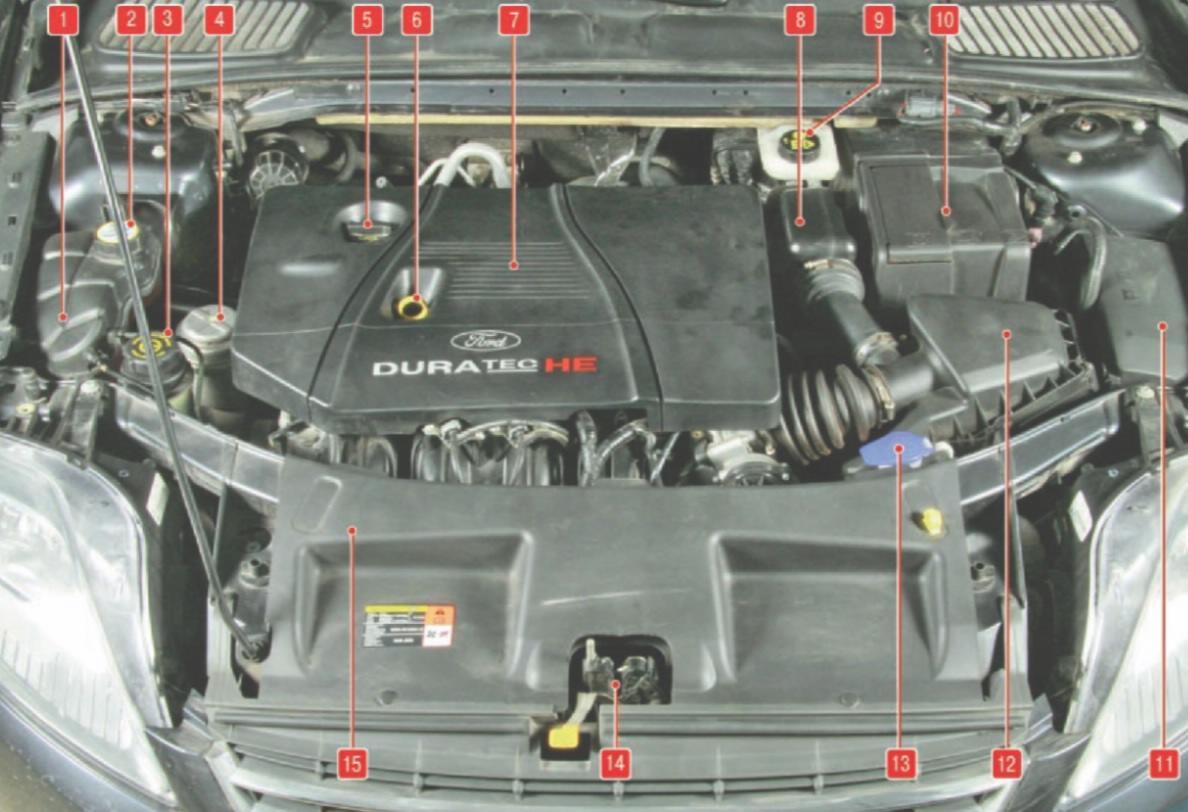 Топливный насос на форд мондео 4 12 фотография
