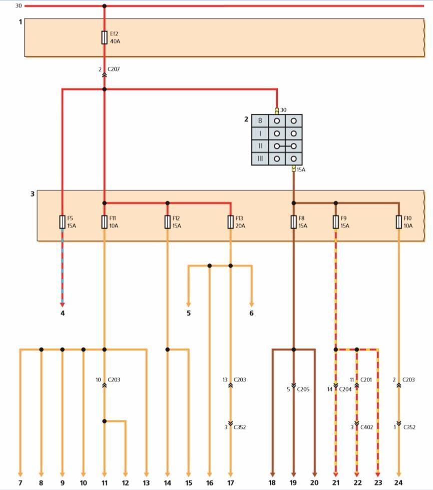 схема подвески передней ланос