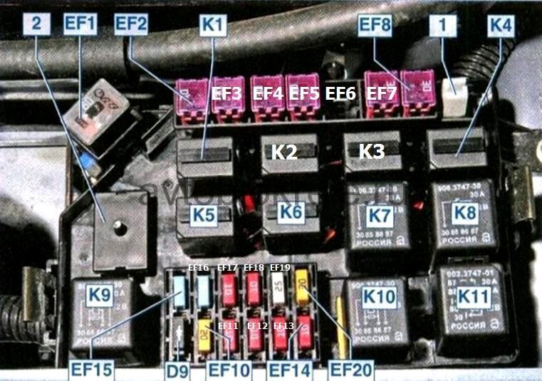шевроле ланос электрическая схема бензонасоса