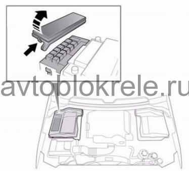 RoverSport-blok-kapot