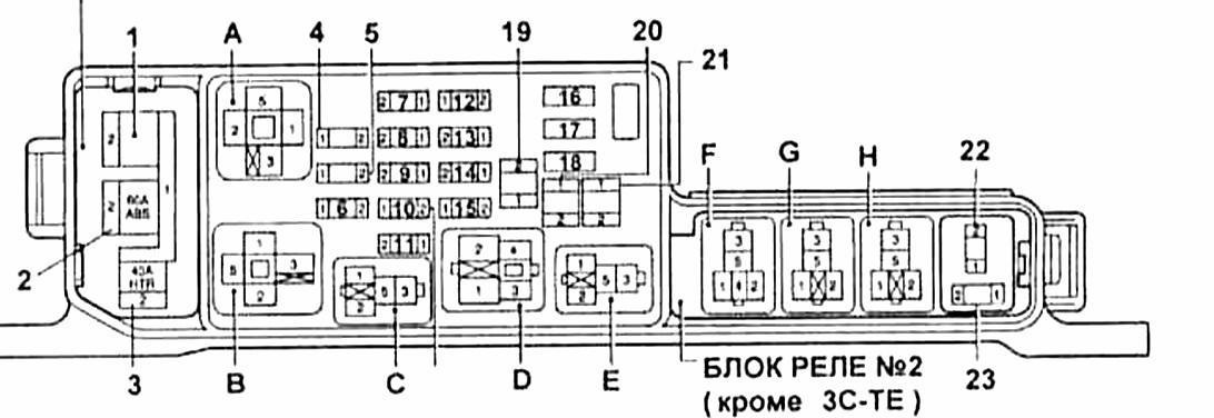 Схема монтажного блока.