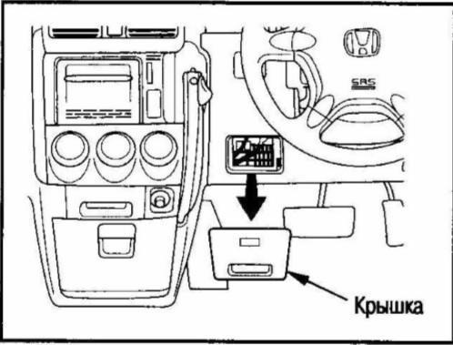 блок предохранителей хонда срв 1999