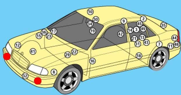 Mercedes202-blok-kapot