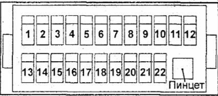 Схема блока предохранителей хендай портер схема