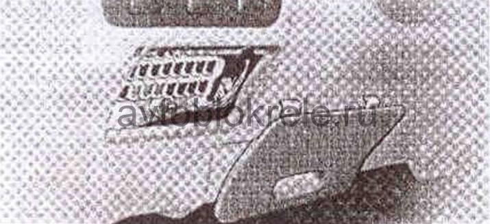 Блок предохранителей и реле Lexus GX470