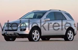 MercedesML164-blok