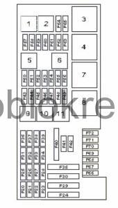 MercedesML164-blok-bagazh-2