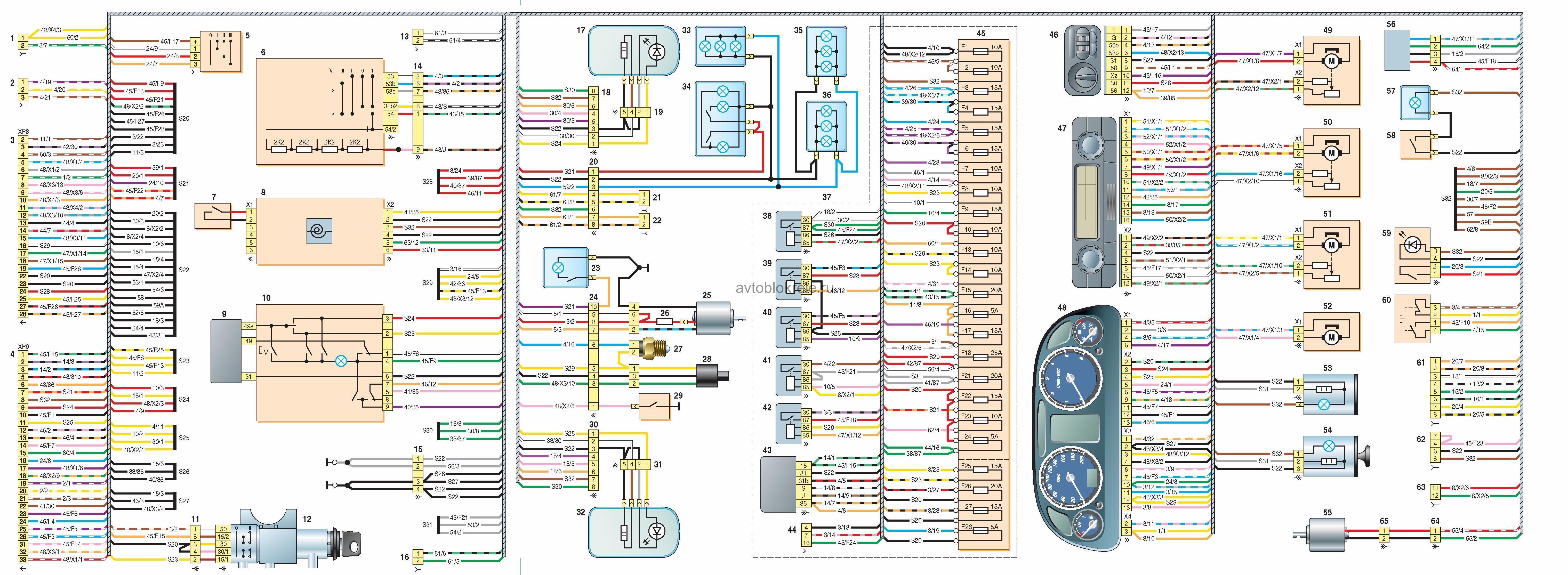 Схема электропроводки газель бизнес 4216 евро 4